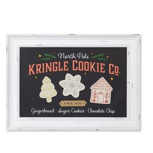 """Chalk Couture RETIRED Kringle Cookie Co. 18x18"""""""